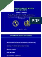 Information Technology Metrics and Indicators