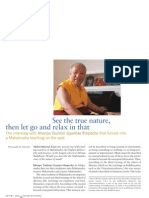 Khenpo Tsultrim Gyamtso Rinpoche Buddhadharma Interview
