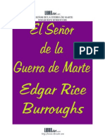 burroughs, edgar rice - 1919 - m03 - el señor de la guerra de marte