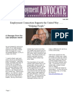 Employment Advocate Newesletter October 2011
