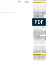 Analisis de Precios Unitarios - Capeco Diciembre 2010- Octubre 2011.