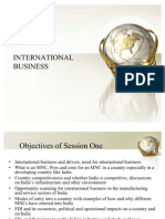 Recent Trends in International Business