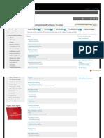 The Complete Android Guide Principiante