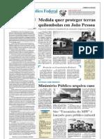Medida quer proteger terras quilombolas em João Pessoa