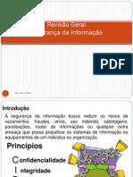 Revisão geral segurança da informação