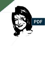 Print Martha Face