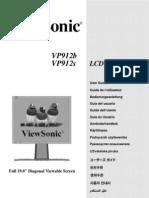 LCD Monitor Vp912b-1 Ug Eng