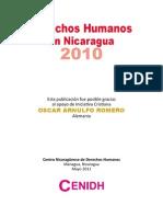 Derechos Humanos en Nicaragua - Informe 2010