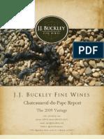 Wine Report 2009 Châteauneuf du Pape