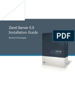 Zend Server Installation Guide 5 5