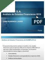 Modelo de Analisis - Eeff 2010
