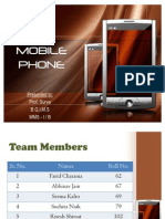 Final PPT on Mobile Phone(30 Th Nov)