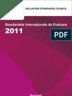 Standardele Internaţionale de Evaluare 2011