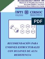 Uniones Roscadas - Equivalencias - Reglamentos305
