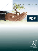 Financial Report 2005 - Taj Pharmaceuticals Group