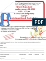 Flyer Realtor Signup Meet and Greet
