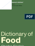 _Dictionary of Food
