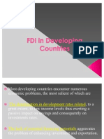 Lecture (4) FDI in Developing Countries