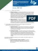Postulados Basicos. NIF a 2