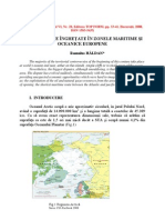 Conflicte Inghetate in Zonele Oceanice Si Maritime Europene (Frozen conflicts in the European Maritime And Oceanic Areas)