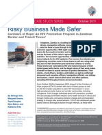 AIDSTAR-One Case Study - Risky Business Made Safer