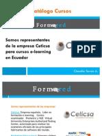 Catalogo Cursos Formared-Ceticsa