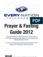 Every Nation Tallahassee (ENT) Prayer Book Guide for 2012
