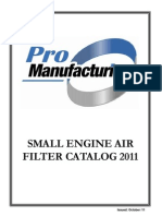 ProManufacturing's 2011 Small Engine Catalog