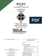 NHLA Hardwood Grading Rulebook