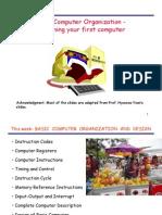 Basic Computer Organization - Designing Your First Computer-ODTÜ-METU