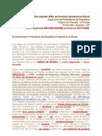 Peticao Sugestao Impedir IPEA de Postular Into