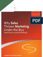 B2B-Why Sales Throws Marketing Under Bus