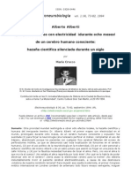 Alberto Alberti Brain Electrostimulation 1883