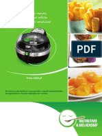 Livro Actifry Gourmand