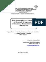 4ta Evaluacion - Bases Neurobiologicas[1]