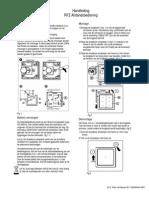 RFZ Handleiding Afstandsbediening Afzuig Installatie