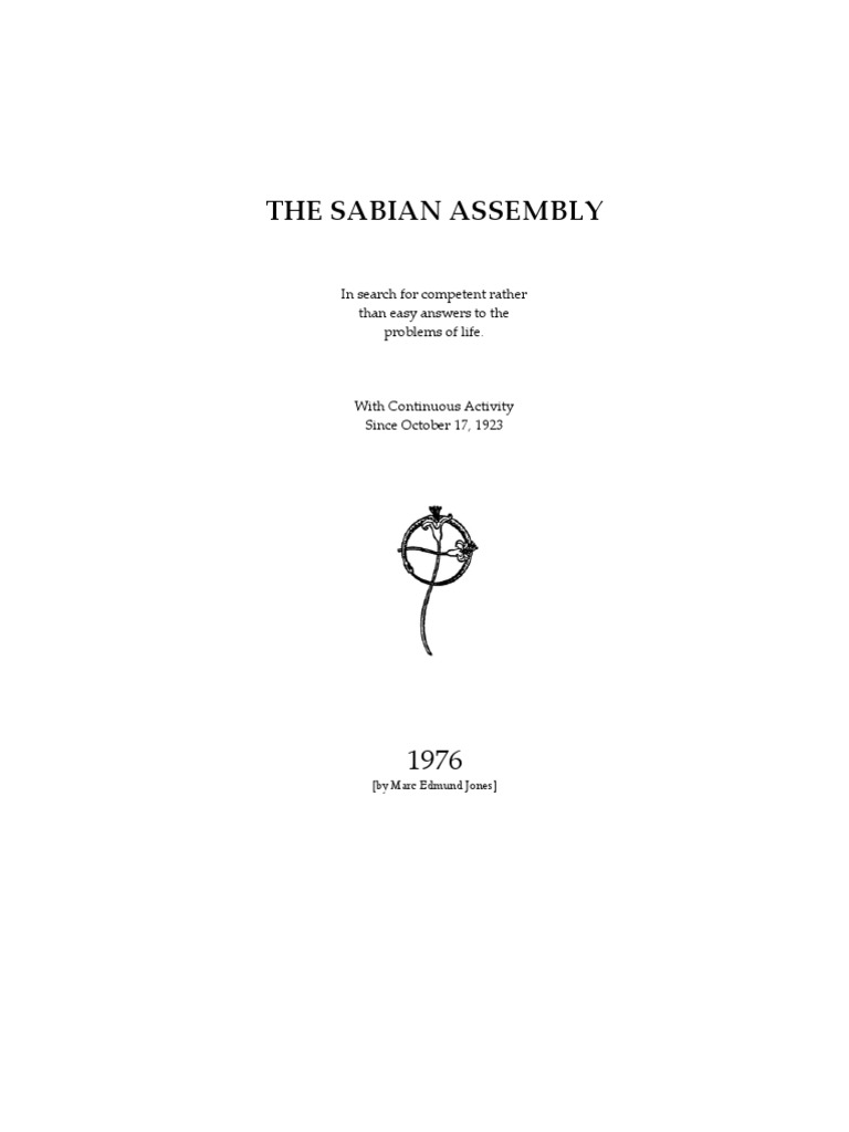 About The Sabian Assembly1 Astrology Aristotle