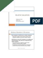 3 Relative Valuation