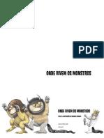 Onde Vivem Os Monstros - Livro