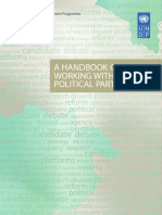 A Handbook on Working With Political Parties (UNDP 2006)