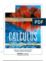 Mccallum - Multi Variable Calculus 5E