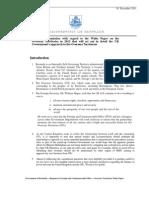 GOB Submission - OT Consultation