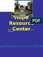 Hope Resource Center Presentation