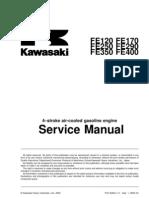 Kawasaki Fe290-400 Engine Service