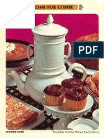 07 Come for Coffee - Betty Crocker Recipe Card Library