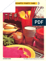 19 Impromptu Party Fare - Betty Crocker Recipe Card Library