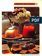 24 Snacks Around the Clock - Betty Crocker Recipe Card Library