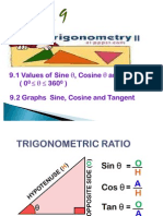 9.0 Trigonometry II 2011