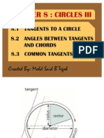 Chapter 8 Circles III
