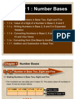 1.0 Number Bases